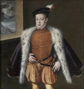 Портрет австрийского принца Дона-Карлоса